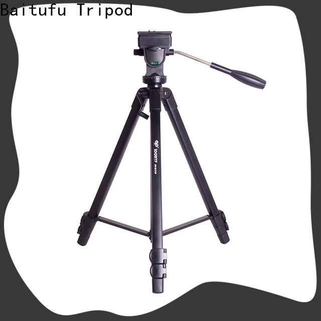 Baitufu High-quality portable camera tripod Suppliers for mobile phone