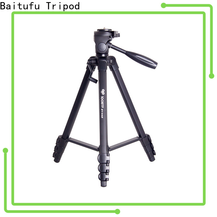 Baitufu small camcorder tripod oem&odm for outdoor