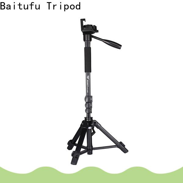 Baitufu video Aluminum Tripod wholesale for video shooting