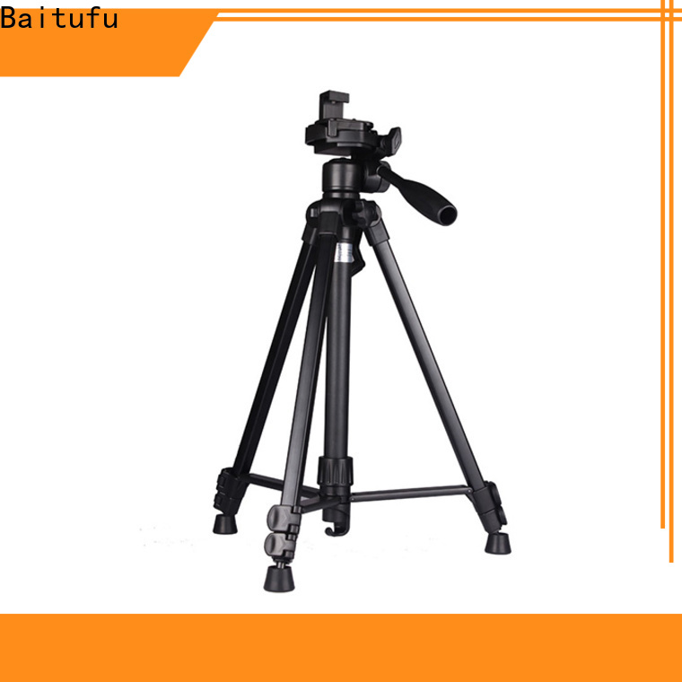 Baitufu tripod camera professional holder for smart phone