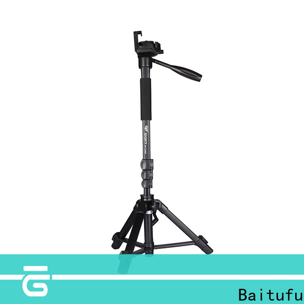 Baitufu video one leg tripods for cameras suppliers for smart phone