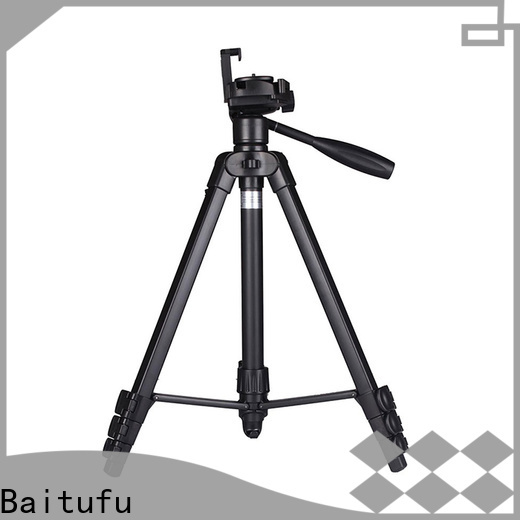 Baitufu high quality portable travel tripod suppliers for video shooting