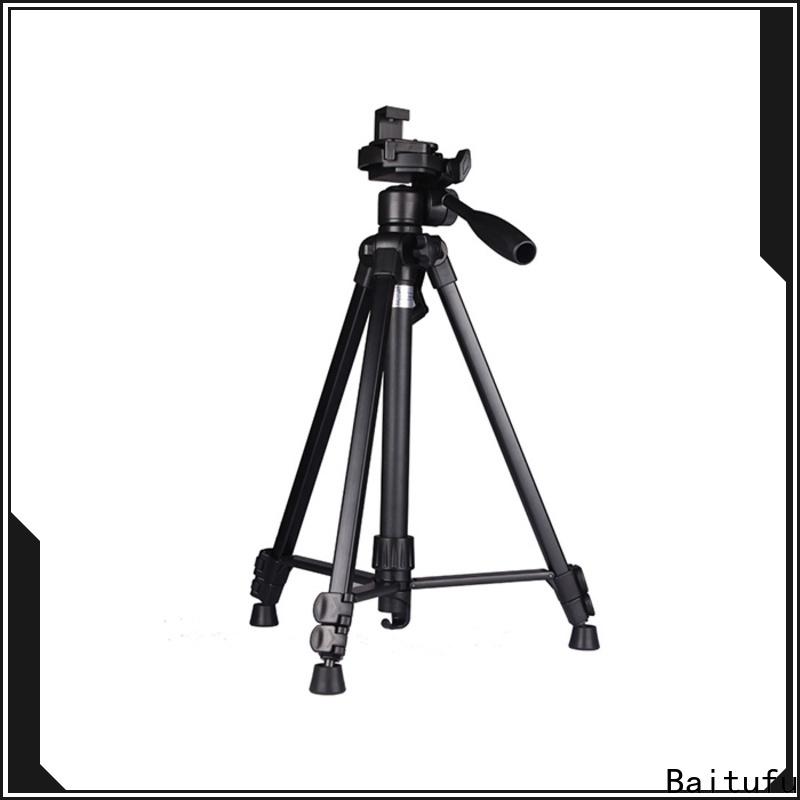 Baitufu custom lightweight tripods for dslr cameras manufacturers for video shooting