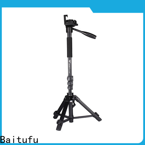 Baitufu Custom adjustable tripod oem for photographers fans