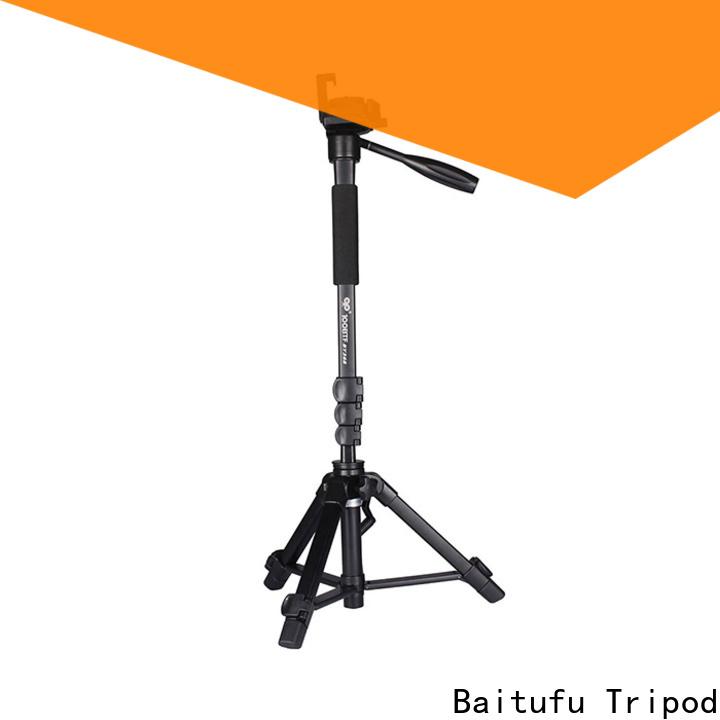 Baitufu Custom professional video camera tripod manufacturers for photographers fans