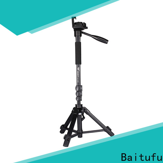 Baitufu lightweight tripod suppliers oem for mobile phone