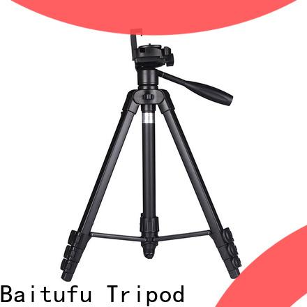 Baitufu portable video camera tripod oem for photographers fans