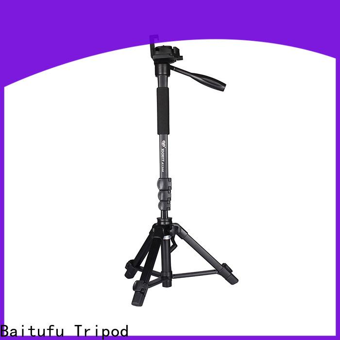Baitufu New lightweight collapsible camera tripod manufacturer for photographer
