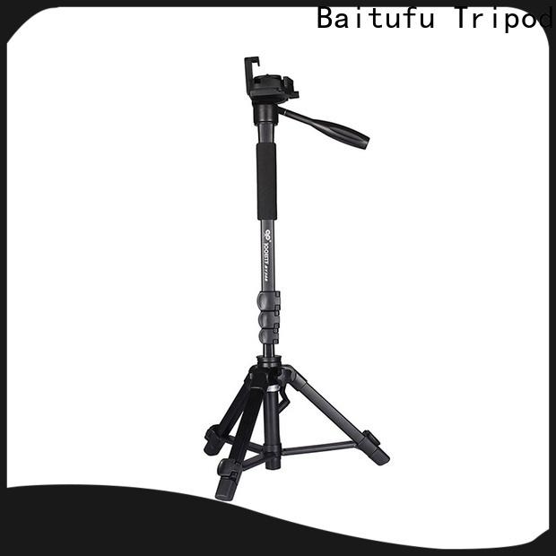 Baitufu custom hd video camera tripod company for photographers