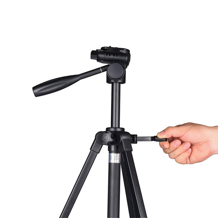 lightweight portable aluminium camera tripod manufacturers for video shooting-1