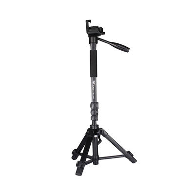 Net Weight 0.95kg Compact Video travel Tripods for DSRL and SRL Cameras BJ368