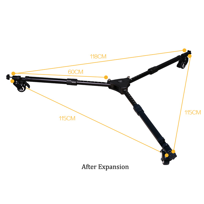 high quality black camera tripod oem&odm for outdoor-2