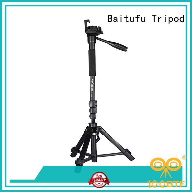 Baitufu video tripod stand manufacturers for camera