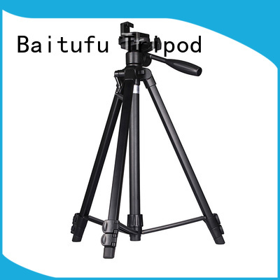 Baitufu small tripod camera stand for mobile phone